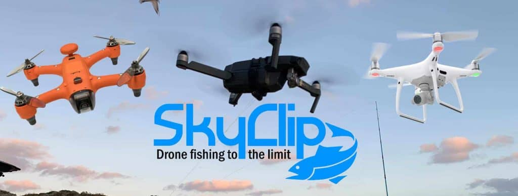 SkyClip Drone Fishing to the Limit