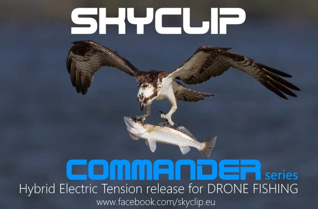 SkyClip Osprey in flight - Commander Series